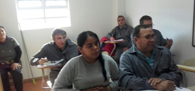 La Ecogranja San Isidro está viviendo intensamente el curso de formación